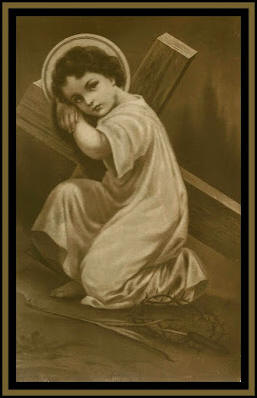 Holy Cards For Your Inspiration: *Child Jesus with Cross ...